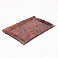 モメンタムファクトリー・Orii tone_tray_square-S (copper red)