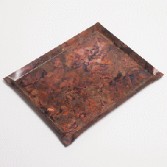 モメンタムファクトリー・Orii tone_tray_square-M (copper red)